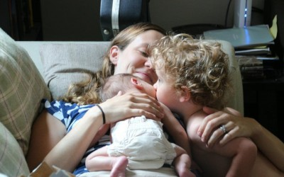 Helping Children Adjust to a New Baby Sibling: My Story