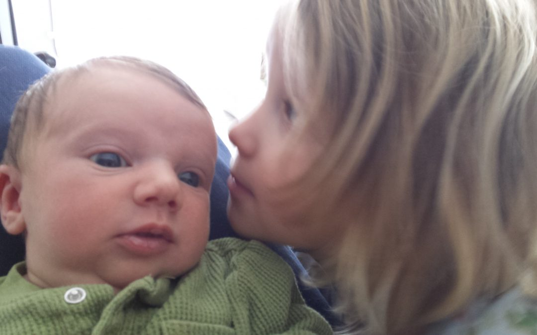 Postpartum Moments: What I Can't Give, They Give Each Other